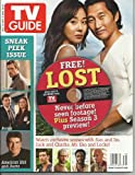 TV Guide with Free CD-ROM of never before seen footage of Lost on cover August 28, 2012