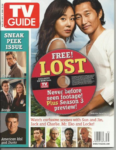 tv-guide-with-free-cd-rom-of-never-before-seen-footage-of-lost-on-cover-august-28-2012