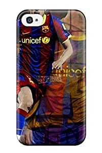 Hot New David Villa Widescreen Case Cover For Iphone 4/4s With Perfect Design