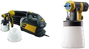 Wagner Spraytech 0518080 Control Spray Max HVLP Paint or Stain Sprayer & Spraytech 529013 Wagner 0529013 Fine Finish/Detail Front End Kit, Black