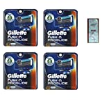 Fusion Pro-glide Refill Cartridge Blades, 32 count , (4 pack of 8) Made In Germany w/ Free Loving Care Trial Size Conditioner