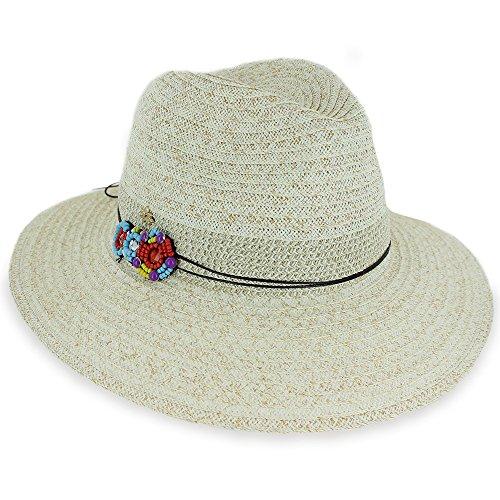 efb6392683c7c Womens Spring Summer Sun Beach Big Brim Straw Hat