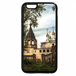iPhone 6S / iPhone 6 Case (Black) decrepit orthodox church in borisogleb russia