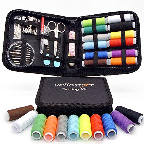 Sewing KIT, Tackle Any Fashion Emergency - Clothing Repairs at Home & in The Office. Highly-Rated Mini Sew Kit for Travel Trips. Mending Supplies & Accessories