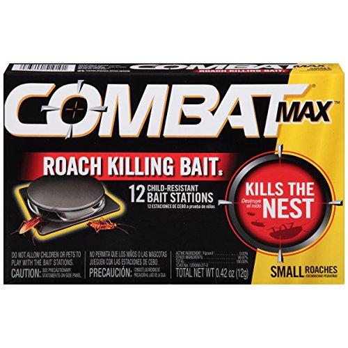 - Combat Source Kill Max R1 Roach Bait, 12 Count