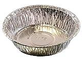 4'' Medium Aluminum Foil Mini-Pot PieTart Pan - Disposable Food Cake Baking Tins