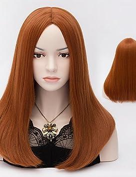 XH@G harajuku pelucas cosplay de anime resistentes al calor a largo peluca sintética recta