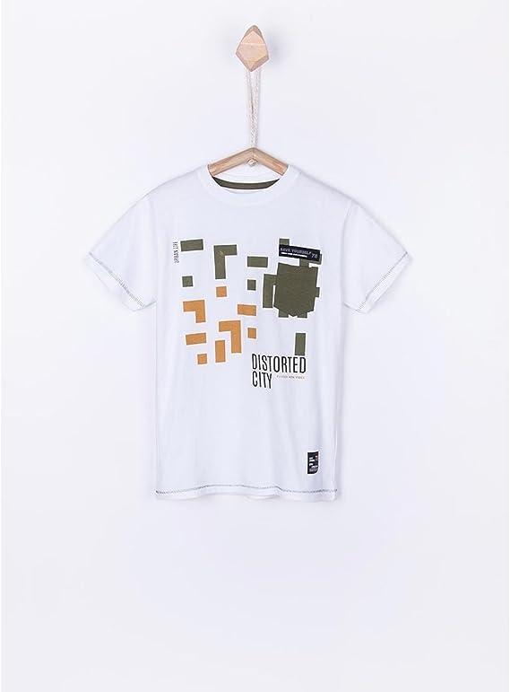 Tiffosi Camiseta Niño Distroy Blanca 6 Blanco: Amazon.es: Ropa y accesorios
