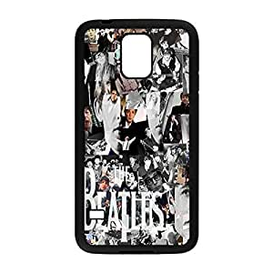 Custom Personalized Phone Case Band The Beatles Hard Plastic Case Back Cover for Samsung Galaxy S5 _Black 30312