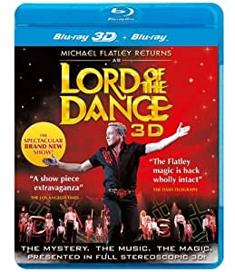 Michael Flatley Returns as Lord of the Dance 3D - REGION FREE - UK Import [Blu-ray 3D + Blu-ray]