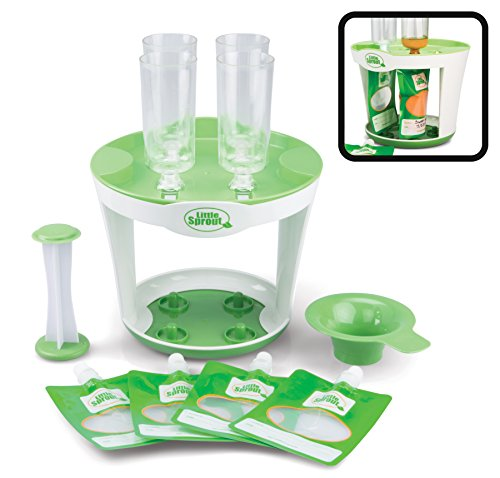 Baby Food Maker Fill Station - Makes 4 Squeeze Babyfood Pouches at a time