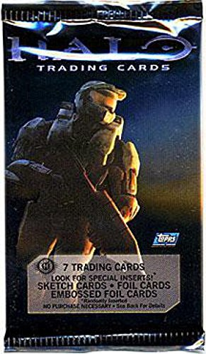 Topps Halo 3 Trading Card Pack ()
