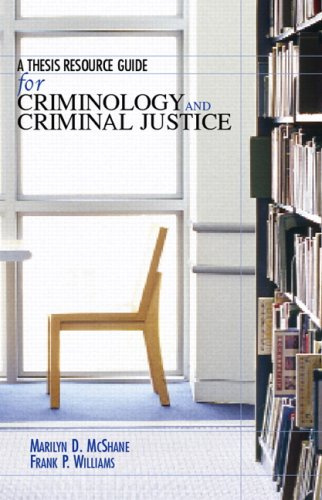 Thesis Resource...Criminology+..Justice