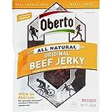 Oberto All Natural Original Beef Jerky, 3.25 Ounce Bag (Pack Of 4)