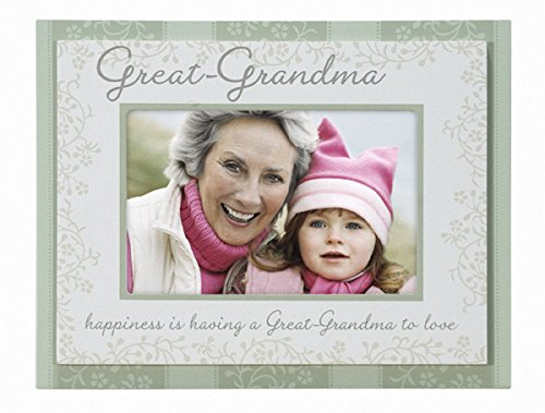 Great-Grandma Double Layer Wood Picture Frame 4x6, Green