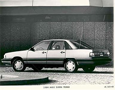 1984 Audi 5000S Turbo Factory Photo