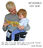 NimNik Baby Sling Carriers Hipseat - Ergonomics Front 2 Back Carrier, Black Bild 7