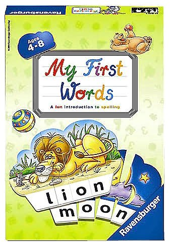 Ravensburger Word Puzzle - Ravensburger - My First Words Game