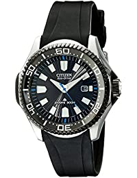 Men's Eco-Drive Promaster Diver Watch with Date, BN0085-01E