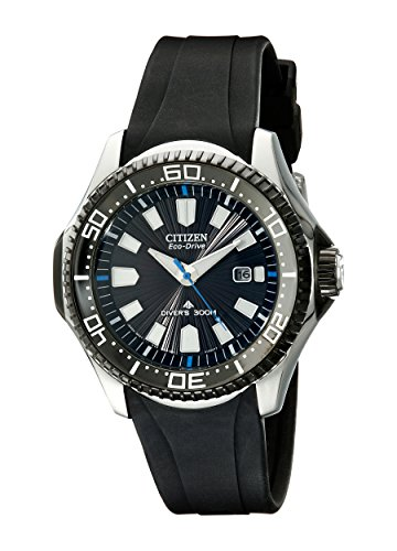 Citizen Eco-Drive Men's Analog Diver's Watch BN0085-01E - Master Ladies Diamond Watch