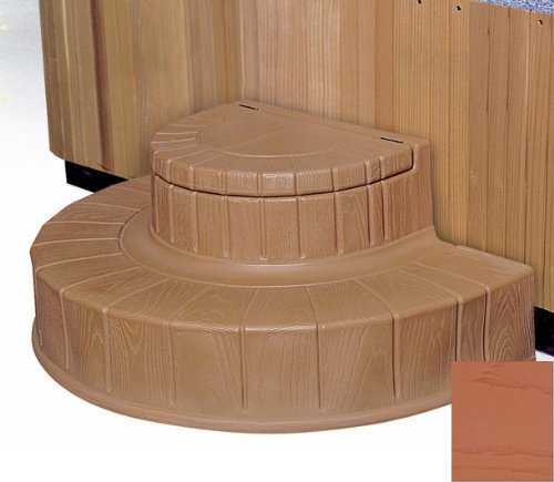 Step n Stow 6130324 Concept 2 Spa Steps - Light Redwood by Byron Originals