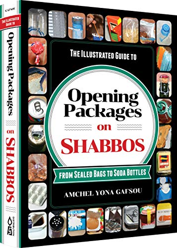 The Illustrated Guide to Opening Packages on Shabbos: From Sealed Bags to Soda Bottles (Soda Package)