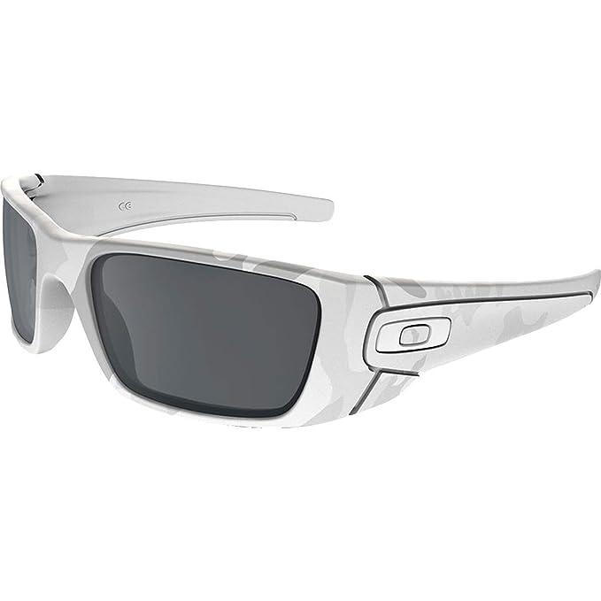 0b73dc11b2 Oakley Fuel Cell lentes de sol rectangulares de iridio no polarizados para  hombre, Multicam Alpine