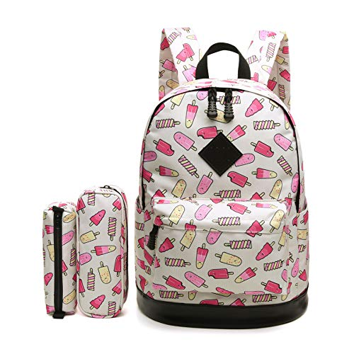 ce7afcf28a79 Aitbags Student Campus Bookbag College School Backpack for Girl Fit ...