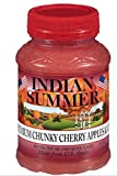 Indian Summer Chunky Cherry Applesauce, 23 Ounce (Pack of 6)