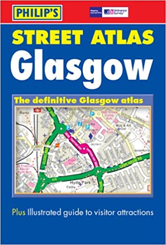Philip's Street Map Glasgow (City Street Map)