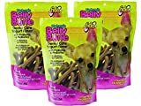 (3 Pack) Belly Bone Yogurt Dog Bone, Mini, 21 Bones each