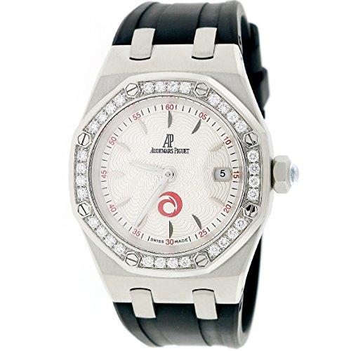 Audemars Piguet Royal Oak analog-quartz womens Watch 67611ST.ZZ.D012CR.01 (Certified Pre-owned)