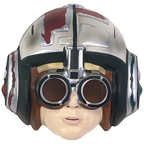 Vintage Star Wars Costumes (Star Wars Episode 1 Anakin Skywalker Podracer PVC Child Costume Mask)