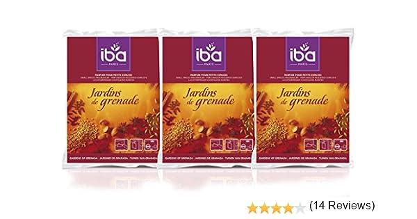 Pack de 3] Iba Ambientador pequeños espacios Jardín de Granada: Amazon.es: Salud y cuidado personal