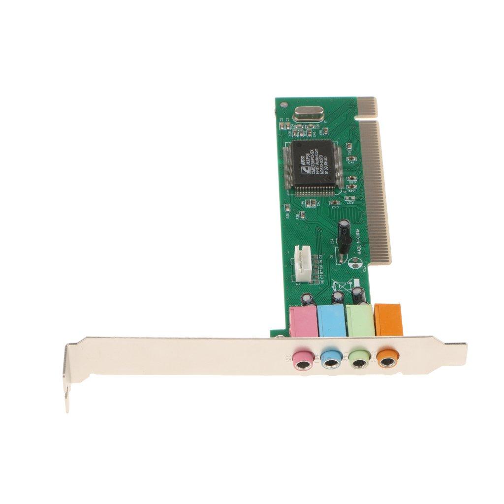 Scheda Madre Scheda Audio Surround PCI Surround 5.1Pack per Desktop
