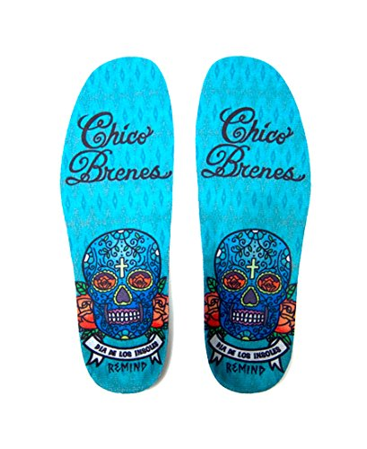 - Remind Insoles Cush Chico Insole, Blue, 10-10.5