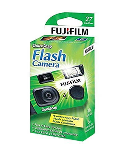 10x Fuji Quicksnap Flash 400 Disposable 35mm Camera 27 Exp 09/2020 FRESH