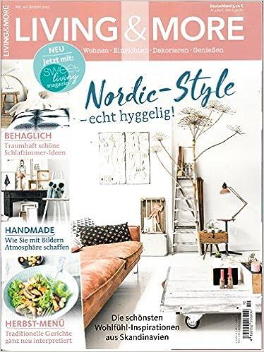 Living More 10 2017 Nordic Style Schlafzimmer Handmade Zeitschrift