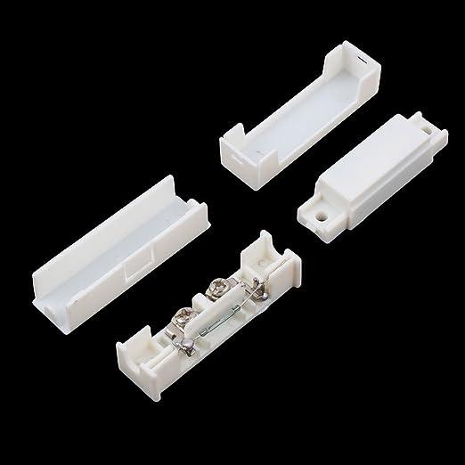 Amazon.com: DealMux Início porta janela sem fio do alarme de segurança Contacto Magnético Detector Sensor Switch 2 Pcs Branco: Electronics
