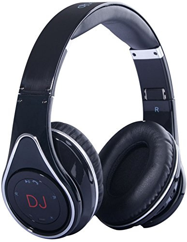 DJ Beats Stereo Headphones Noise Cancelling Bluetooth Wireless Music Streaming Hands Free Calling by HiQ by DJBeats by HiQ