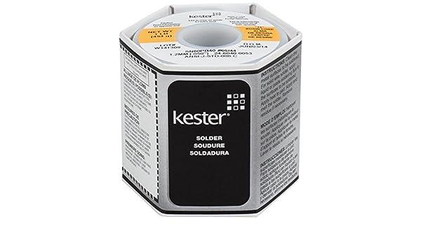 Amazon.com: Kester 44 Rosin Core Solder 60/40 .050 1 lb. Spool by Kester: Home & Kitchen