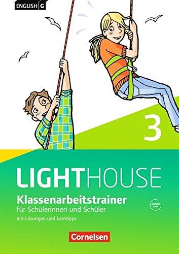 English G Lighthouse - Allgemeine Ausgabe / Band 3: 7. Schuljahr - Klassenarbeitstrainer mit Lösungen und Audio-Materialien