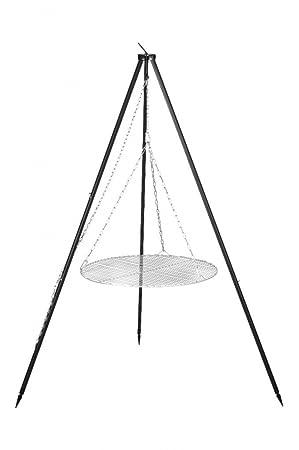 FARMCOOK Schwenkgrill NOBEL Dreibein mit Grillrost aus Edelstahl 70cm Rost