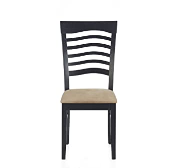 @home by Nilkamal Detriot Single Seater Dining Chair (Cappuccino)
