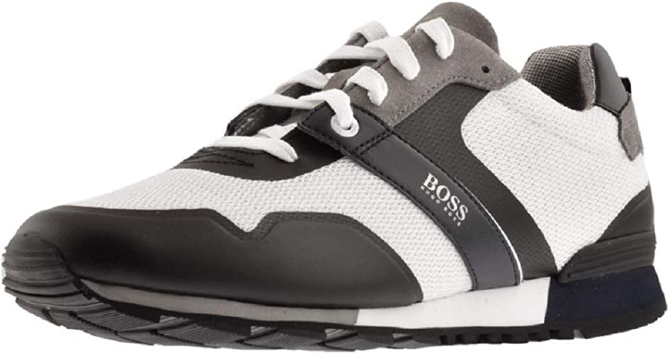 Hugo Boss Shoes Parkour/_Runn/_meth Fashion Men Black Brand New