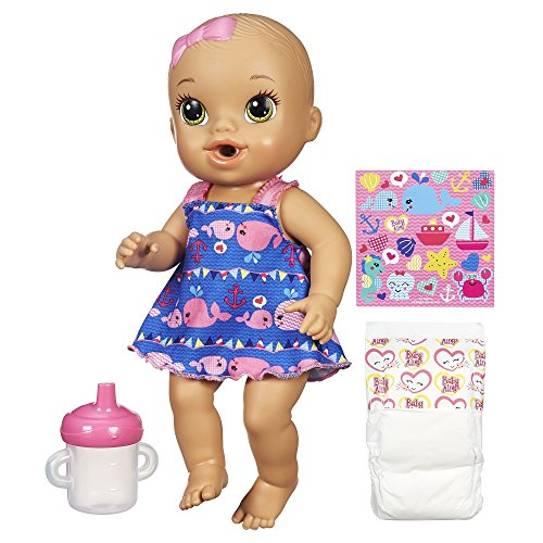 Baby Alive Sips 'n Cuddles Nautical Doll (Diapers And Food For Baby Alive compare prices)
