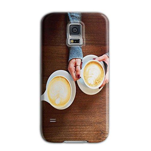 Holding Coffee Cup Energy Drink New Black 3D Samsung Galaxy S5 Case   Wellcoda