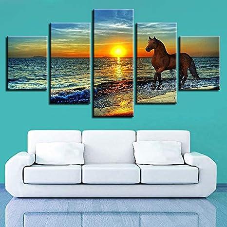 Pintura sobre Lienzo, Pintura Moderna Impresión en Lienzo HD ...
