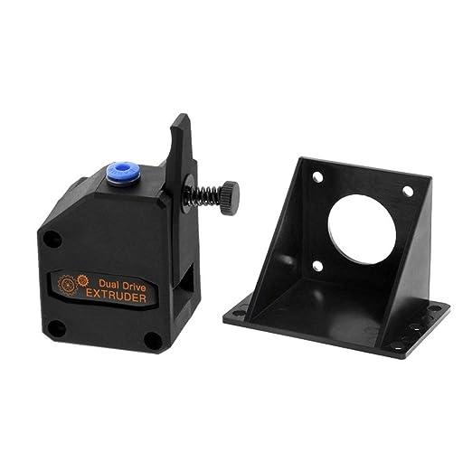 KKmoon Para los accesorios de la impresora 3D Dual Gear BMG ...