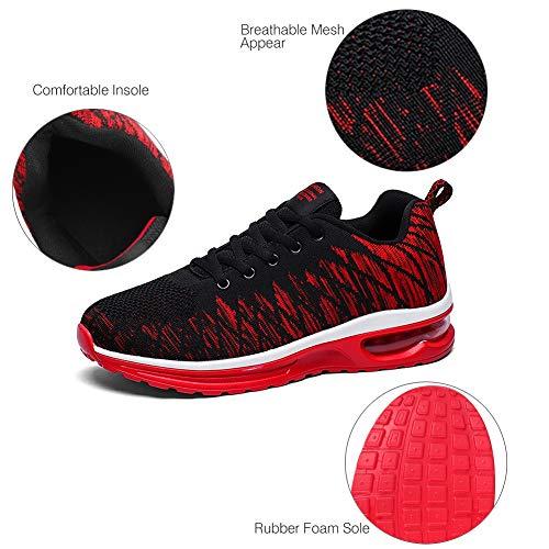 Outdoor Noir Mixte Homme Course Adulte Fitness Padgene Multi Baskets De Mode rouge Femme Chaussures Sneaker sports Sports Air qw8HtaSHZn